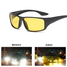 Новинка 2020, антибликовые очки ночного видения для водителя, очки для ночного вождения, модные солнцезащитные очки с улучшенным светом, аксе...