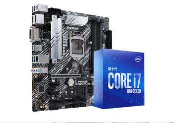 Asus PRIME Z490M-PLUS motherboard +I9-10900K/I7-10700K  CPU motherboard+CPU set