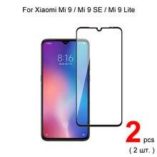 2 шт Полное покрытие закаленное стекло для xiaomi mi 9 se /