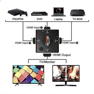 Image 4 - Hdmi Splitter Adattatore Cavo 1.4b 1080P Switcher Switch Hdmi 3 in 1 Out Port Hub per Xbox PS3 PS4 hdtv