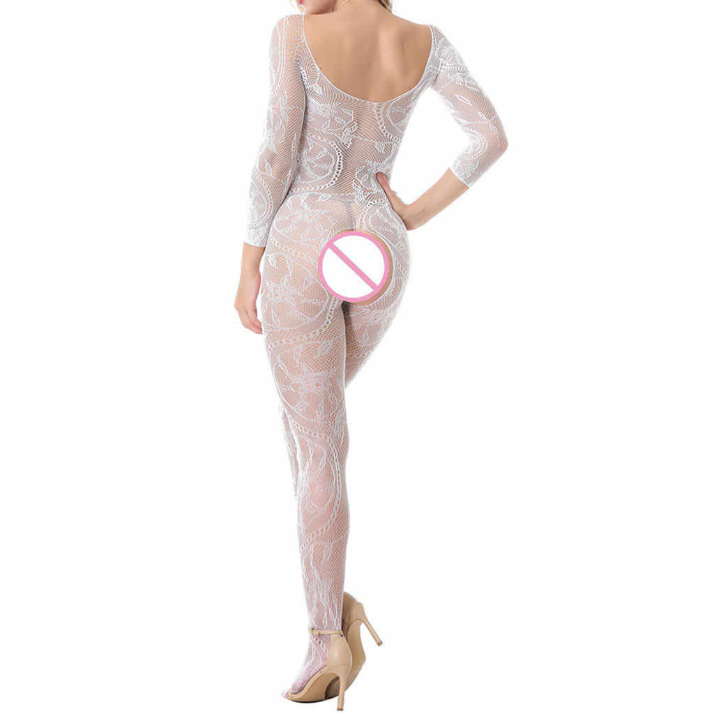 Body Sexy Lingerie latex bodystocking Catsuit latex catsuit Vrouwen Sissy Lingerie Babydoll Ondergoed Bodystocking One Size