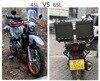 45L-65L Universal Motorcycle Rear Luggage Trunk Storage Moto Top Case Tool Box Waterproof Helmet Key Lock Tail Toolbox Aluminum review
