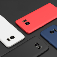 ITEUU Ultra-Thin TPU Soft Matte Case for Samsung
