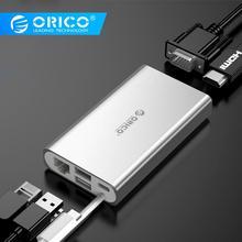 лучшая цена ORICO USB HUB Type C HUB To USB 3.0 Type-C HDMI PD Adapter For Macbox Docking Station 4K 5Gbps High Speed USB C HUB