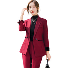 Womens Suits Set 2 Pieces Suit Coat Wome