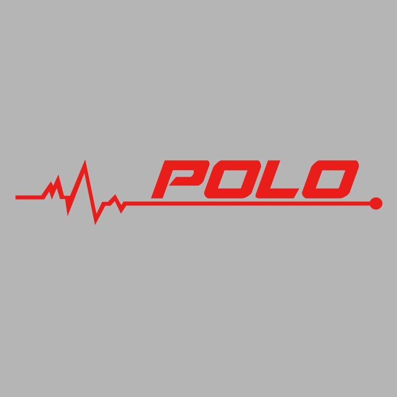 1 шт. автомобиля-Стайлинг Светоотражающая наклейка на крышку топливного бака и наклейка Аксессуары для Volkswagen VW POLO CARAVELLE CRAFTER аксессуары - Название цвета: red 15cm 1pcs