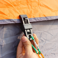 HOT Outdoor Camping Plastic Clip Clip Tents Awning Accessoryories Tents Awning Wind Rope Clamp Awnings Clip Tent Accessories 1PC