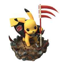 Anime Pikachu Cosplay Hidan PVC Action Figure Doll Collection Model Toy free shipping 8 anime kantai collection kan colle amatsukaze boxed 19cm pvc action figure collection model doll toy gift