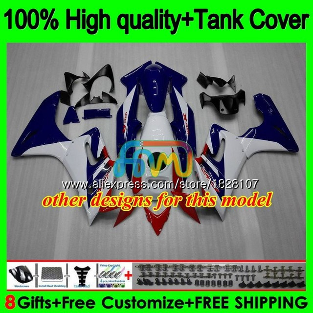 +Tank For HONDA CBR-125R 125CC CBR125R 02 03 04 05 06 135BS.0 CBR125RR CBR 125R 2002 2003 2004 2005 2006 Fairings Factory red