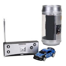 Coke Can Mini Radio Remote Control Micro-Racing Rc Car