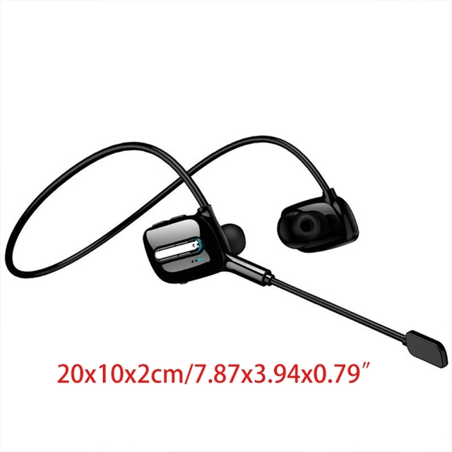 ALLOET Good Experience Wireless Headphones Bluetooth Earphone Neckband Earbuds Game Headset with Microphone for PUBG Gam 3