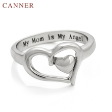 2019 New Cute Love Heart-Shaped Silver Rings for Women Mother's Day Gift 925 Sterling Silver Rings for Women Fashion Jewelry missita 100% 925 sterling silver rings for women love series heart wedding brand fashion jewelry anniversary gift hot sell
