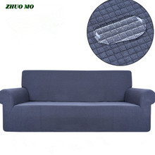 ZHUO MO waterproof sofa cover soft couch slipcovers plaid elastic spandex cloth home decoration for sofa