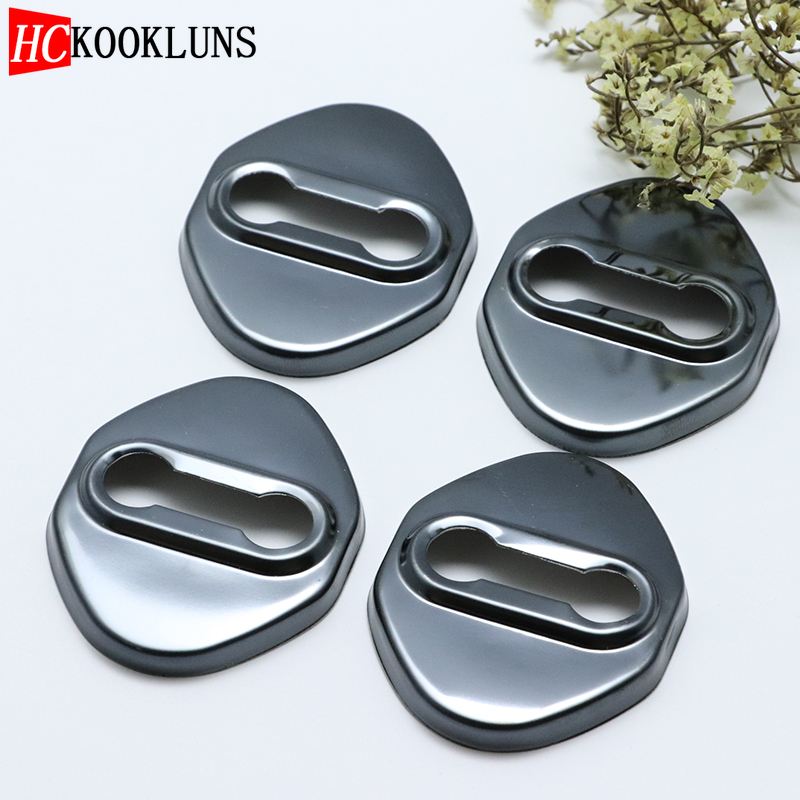 4PCS Stainless Steel Door Lock Buckle Protective Cover Auto Case For <font><b>mazda</b></font> <font><b>CX</b></font>-<font><b>9</b></font> CX9 <font><b>CX</b></font> <font><b>9</b></font> 2009 2010 <font><b>2011</b></font> 2012-2017 Car Styling image