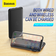Baseus Portable 10000mAh Wireless Power Bank Fast Chargerfor