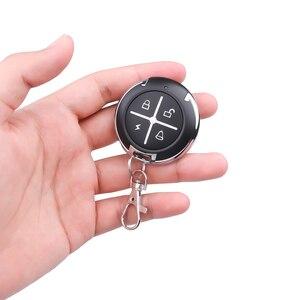 Image 5 - Kebidu controle remoto de 433mhz, controle remoto para portão, sem fio, rf, 4 canais, clonagem elétrica, para portão, porta de garagem e carro, chaveiro
