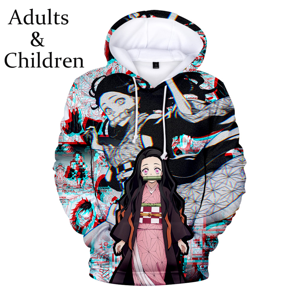 New Ghost Blade Boy Girl Fashion 3D Hoodie Man Woman Popular Comfortable Sweatshirt Autumn Winter Multicolor Demon Slayer Hoodie