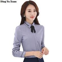 6xl 7xl 8xl Формальные Рубашки для Для женщин в Корейском стиле