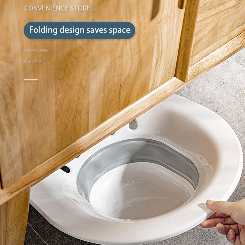 Mulher dobrável bidé sauna hip irrigator perineum banho de imersão banheira grávida para banho chuveiro anal lavagem acne bacia wc-3