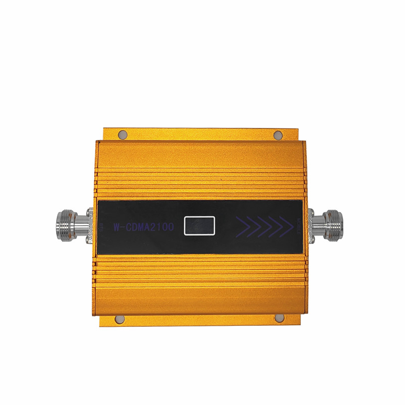 3G WCDMA 2100MHz Mobile Phone Cell Phone Signal Booster Repeater Only ,gain 65 Dbi LCD Display , Antenna Not Included