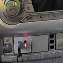 สำหรับ Ford Focus Mk2 2010 2011รถเงิน USB 2.0อินพุตปุ่มวิทยุสายเคเบิลอะแดปเตอร์ Mini CD Player Plug สวิทช์อุปกรณ์เสริม