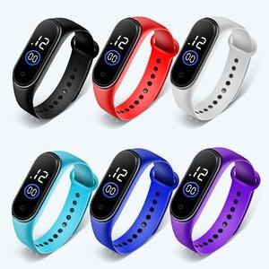 Waterproof Children Boys Girls Digital LED Quartz Alarm Date Sports Wrist Watch New Arrival Freeshipping Hot Sales Sport Watches