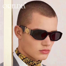 Fashion Rectangle Sunglasses Men Women Luxury Brand Designer