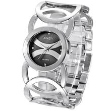 Luxury Women's Watch HOT XINEW Fashion Watch Stainless Steel