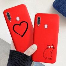 Für Samsung Galaxy A7 A5 A6 Plus A9 2018 A7 2017 Fall Nette Candy Gemalt Abdeckung Für Samsung A20e A20S a81 A90 A91 Weiche Fundas