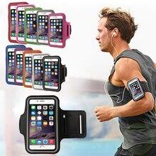 Универсальная спортивная водонепроницаемая повязка на руку 4,5-6,1 дюймов для iPhone 11 SE2 6s 7 8 Plus X XS XR, чехол для телефона, наружные повязки для бег...