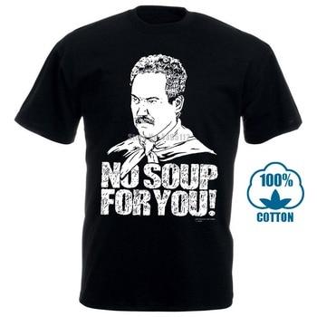 Seinfeld Zuppa No Zuppa di Per Voi del Carbone di legna Grigio T Shirt