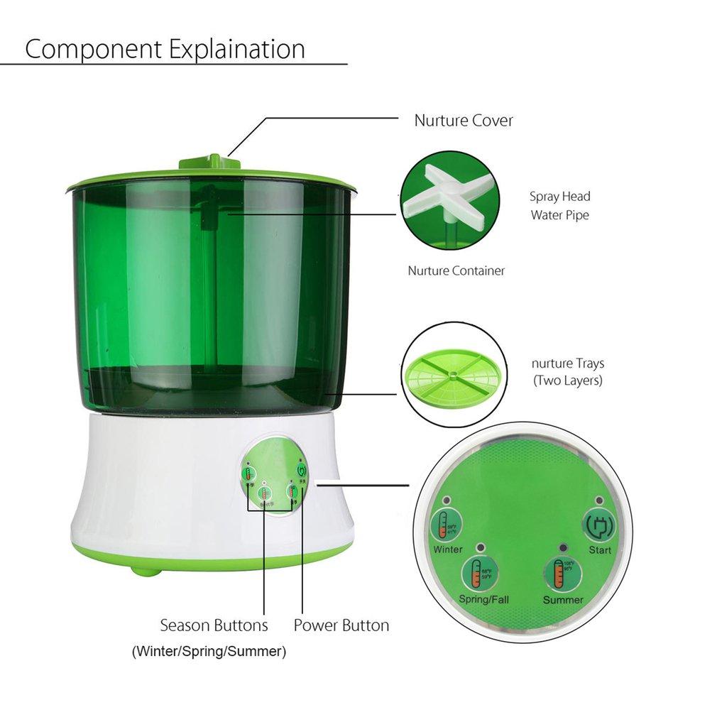 Digital casa diy brotos de feijão fabricante