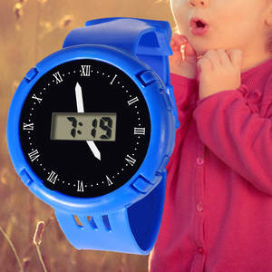 Watch Children Silicone Kids Electronic Casual Fashion Comfortable Fluorescent