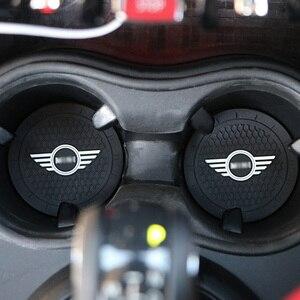 Автомобильный подстаканник, нескользящий коврик, украшение интерьера, автомобильные Стайлинг, аксессуары для MINI Cooper Clubman R55 R56 R57 R58 R59 F54 F60