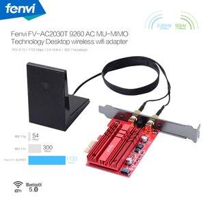 Image 2 - سطح المكتب يسي e 2030Mbps 802.11ac بلوتوث 5.0 يسي اكسبرس اللاسلكية واي فاي محول 9260NGW واي فاي بطاقة 2.4G/5Ghz MU MIMO ويندوز 10
