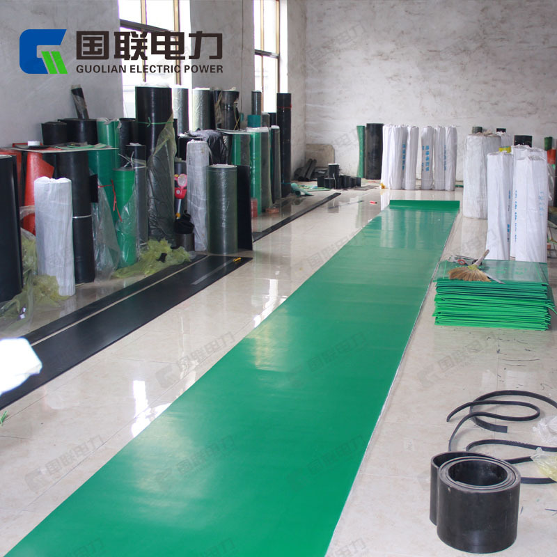 League Electric Power Green Distribution Room Only Insulation Rubber Sheet Carpet Mat 3/5/6/8/10/12