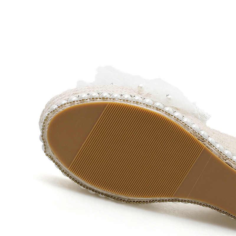 2020 נשים שקוף 11.5cm גבוהה עקבים 5cm פלטפורמת טריזי סנדלי קיץ שקופיות פרל נעלי זהב כסף באיכות לנשף נעליים