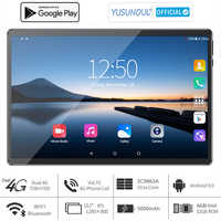 2021 ventas 6G Ram Tablet pc de 10 pulgadas 5G Wifi 4G LTE 1280*800 HD Android 9,0 pastel 8 Core Dual cámaras телефонная панель для звонков