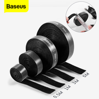 Baseus Cable Organizer USB Charger Cable Management Protector For iPhone Mouse Wire Earphone Cable Winder Holder Cord Organizer