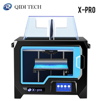 QIDI TECH X Pro 3D Printer Dual Extruder with WiFi 4.3 Inch Touch Screen with ABS,PLA,TPU