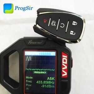 Image 4 - Mando a distancia Original de 5 botones, 433MHz, para Chevrolet Camaro Cruze Malibu con Chip PCF7937E Hitag2 ID46
