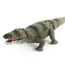 Remote Control Simulate Crocodile Toy Can Rectilinear Crawling Kids Animal Gift