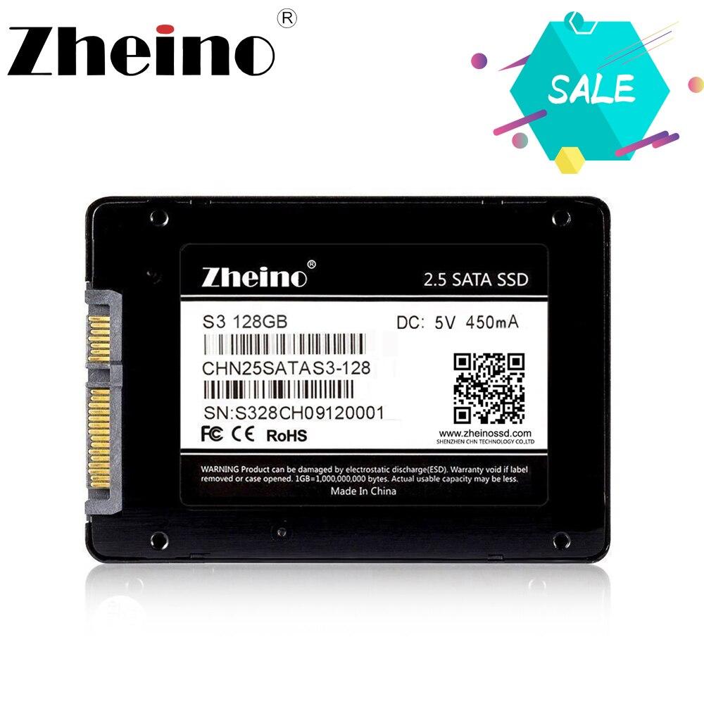 Zheino 2,5 дюймов SATA3 SSD 120 ГБ 128 ГБ 256 ГБ 512 ГБ SSD Внутренний твердотельный накопитель