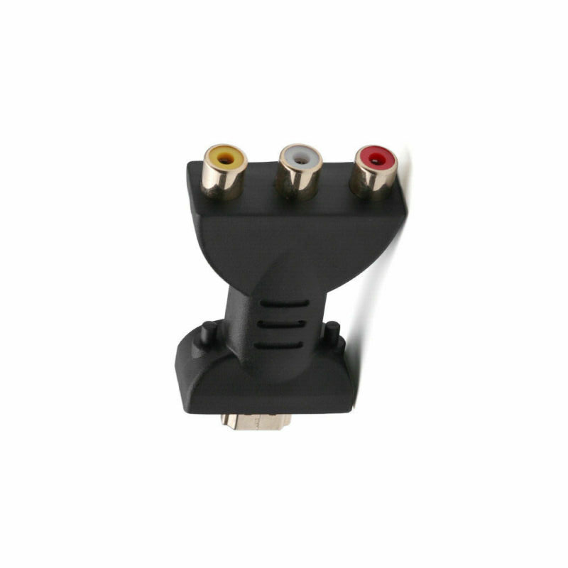 AV Digital Signal <font><b>HDMI</b></font> <font><b>To</b></font> <font><b>3</b></font> <font><b>RCA</b></font> Audio Adapter Component Converter Video <font><b>HDMI</b></font> <font><b>Male</b></font> <font><b>to</b></font> <font><b>3</b></font> <font><b>RCA</b></font> Video Audio Adapter <font><b>RGB</b></font> Color image