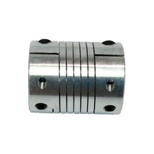 Shaft Coupling Flexible Coupler CNC Flexible Coupling Shaft Coupler Motor Connector for Motors Aluminum Alloy Diameter 25MM/30MM