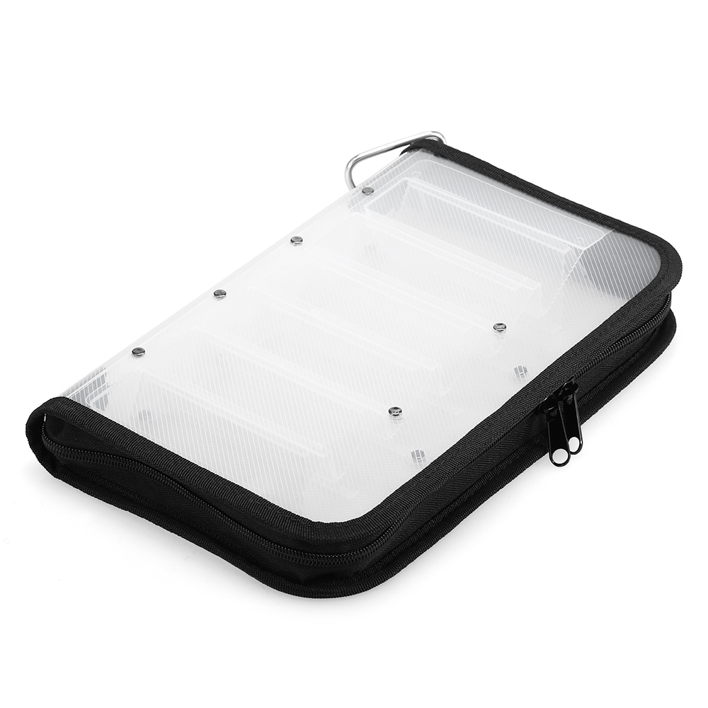 Fishing Tackle Box Plastic Waterproof Double Sided Carp Bait Lure Case for <font><b>Squid</b></font> <font><b>Jig</b></font> Hooks Storage <font><b>Bag</b></font> Carrier 12 Compartments image