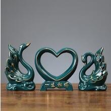 Креативный домашний керамический лебедь Креативные украшения