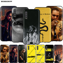 Webbedepp Post Malone Beerbongs étui pour samsung Galaxy S7 S8 S9 S10 Plus Bord Note 10 8 9 A10 A20 A30 A40 A50 A60 A70(China)