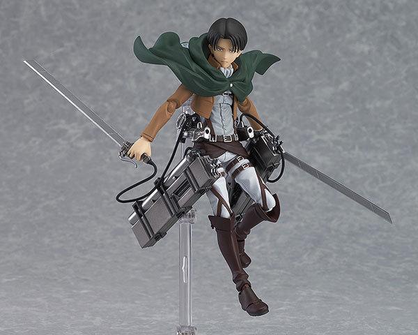 15cm New Anime Attack on Titan Eren Mikasa Levi Ackerman Figma 213 Movable Ver PVC Action Figure Collectible Model Toys 4