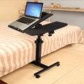 Складной прикроватный стол для ноутбука Настольный многофункциональный регулируемый по высоте передвижной стол для ноутбука студенческо...
